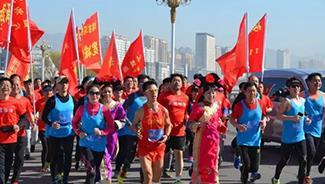 承德琢酒赞助辛科安穿越承津260公里马拉松正式开跑