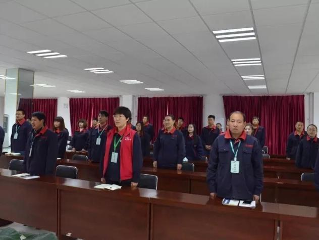 承德乐虎体育直播官网下载干部员工观看盛会开幕
